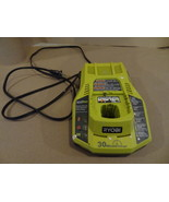 RYOBI 30 MINUTE BATTERY CHARGER  BARE TOOL ONLY P117 USED WORKS WELL INT... - $25.99