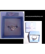 Sterling Silver 925 Twisted Heart Ring NIB Women's Size 7 - $12.99