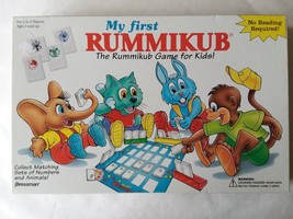 Vintage 1994 My First Rummikub Game For Kids Complete - $9.64