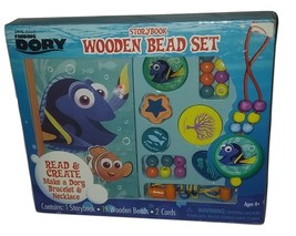 Disney Pixar Finding Dory Story Book Wooden Beads Set New  - $8.99