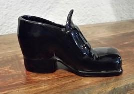 Porcelain Shoe Larin Crafts Visalia California Vintage Figurine - $8.90
