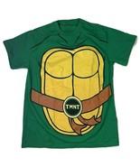 Teenage Mutant Ninja Turtle TMNT T Shirt Men's Size M Green W Shell - $11.20