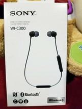 Sony WI-C300 Wireless NFC Bluetooth In-Ear Earbuds C300 Headphones  Black - $20.54