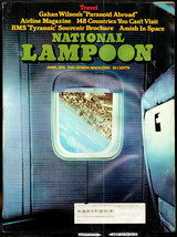 National Lampoon #49, April 1974 - Travel Issue, Amish in Space - $11.00
