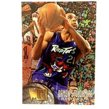 Damon Stoudamire 1995-96 Fleer Metal Rookie Card #200 NBA Toronto Raptors - $2.92