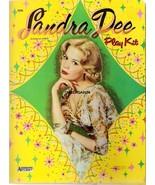 VINTAGE UNCUT 1960 SANDRA DEE PAPER DOLLS~#1 REPRODUCTION~RARE ONE DOLL ... - $17.50