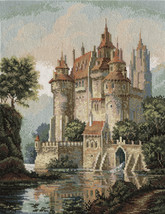 Cross Stitch Kit Panna Golden Series ZU-1280 Castle in the Mountains - $69.00