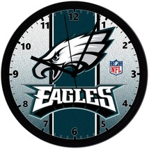 "Philadelphia Eagles LOGO Homemade 8"" NFL Wall Clock w/ Battery Included - $23.97"