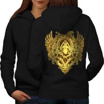 Mystical Beast Vintage Sweatshirt Hoody 3 Wise Chimp Women Hoodie Back - $21.99+
