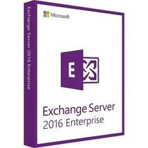 Exchange Server 2016 Enterprise Edition 64 Bit Complete with 1000 User C... - $1,777.05
