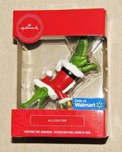 Hallmark Alligator Santa Christmas Tree Ornament Walmart Exclusive NEW - $9.80