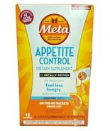 Meta Appetite Control Fiber Sugar Free Orange Zest 23.3oz.  - $21.29