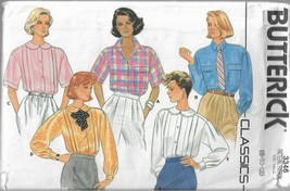 Vintage Butterick Classics Pattern #3703-Yes It's Easy-Misses Top-Sizes 14-16-18 - $4.95