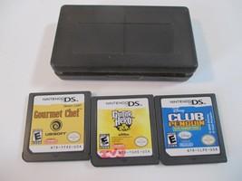 Guitar Hero: On Tour Nintendo DS Club Penguin  Gourmet Chef Cartridges O... - $29.70