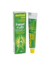 Metsal Cream Heat Rub 50g Temporary Relief Sprains,Joint & Muscle Pain TBS - $16.90