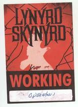 Lynyrd Skynyrd 1999 Tour WORKING Backstage Pass! - $9.89