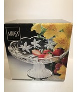 "MIKASA ""GARDEN TERRACE"" 8 1/2"" FOOTED COMPOTE FRUIT OR CANDY DISH - $11.30"