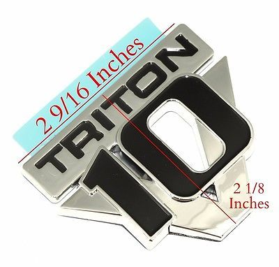 2x New Chrome Look Sports 16V Car Badge Emblem Decal Replacement Part 16 Valve