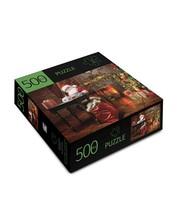 """Santa Design Jigsaw Puzzle 500 pc  28"""" x 20"""" When Complete Durable Fit Pieces image 2"""