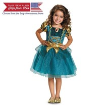 Merida Toddler Classic Costume, Large (4-6x) - $31.37