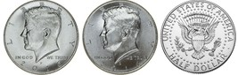 2016 P and D  BU Kennedy Half Dollar from US Mint Roll CP2444 - $4.25