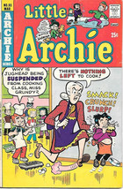 Little Archie Comic Book #93, Archie Comics 1975 VERY GOOD+ - $3.25