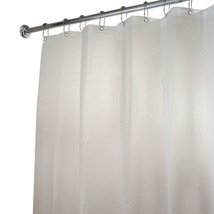 interDesign Poly Extra-Long Waterproof Shower Curtain Liner in White 15062 - $10.95