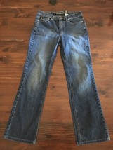 DKNY Women's East Village Stretch Jeans Pants Sz 4 Dark Blue Wash EUC 28x29 - $23.13