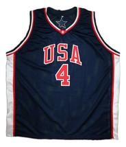 Steve Smith Team USA Basketball Jersey Sewn Navy Blue Any Size image 4