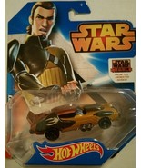 Star Wars Hot Wheels Single Race Cars New - $9.99