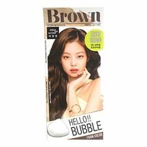 Easy Hair Coloring, mise en scene Hello Bubble Foam Color Medium Brown [6N Choco