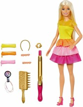 Barbie Create Your Waves, Doll Rubia With Accessories For Styling, Gift ... - $213.95