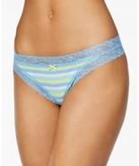 Jenni Women's by Jennifer Moore Cheeky Lace-Trim Thongs Panty - $12.88