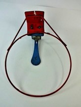 Vintage Old Metal Basketball Hoop Rim Goal w/ Bell Reset Alert Over The ... - $39.20