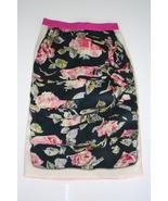 D&G Dolce&Gabbana Silk Floral Skirt - $90.00