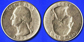 "Two Face ""Hobo Nickel"" on Washington Quarter Coin ** - $5.49"