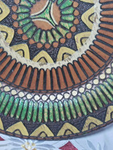 Albania Wood Plate Vintage Wall Art image 2