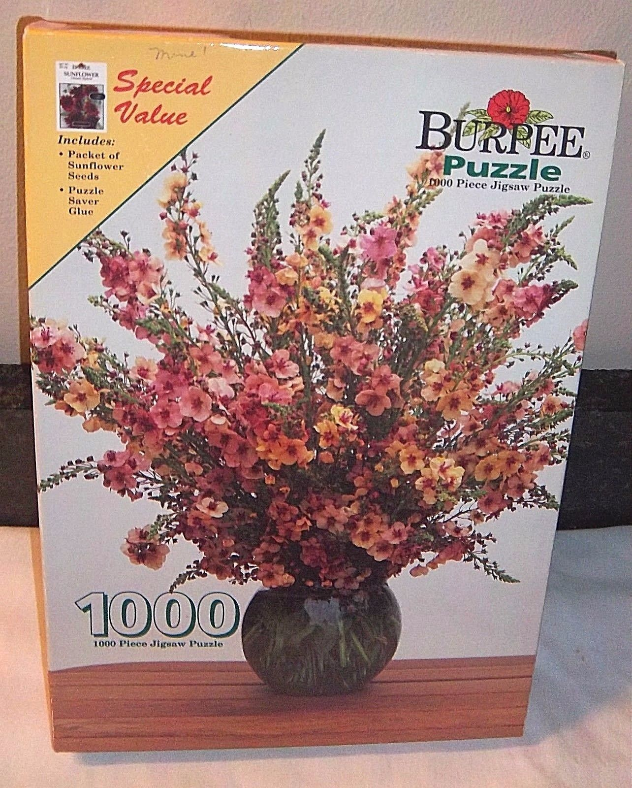 Burpee Sunflower 1000 Piece Puzzle by Burpee by Burpee