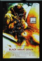 Black Hawk Down - Signed Movie Poster in Wood Frame with COA - $717.75