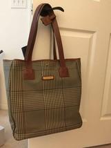 POLO RALPH LAUREN PLAIDS BAG HAND BAG SHOULDER - $593.01
