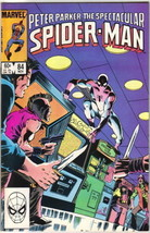 The Spectacular Spider-Man Comic Book #84 Marvel 1983 VERY FINE- UNREAD - $3.50