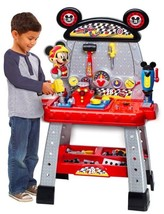 Disney Junior Mickey and the Roadster Racers Pit Crew WORKBENCH - Lights & Sound - $64.23