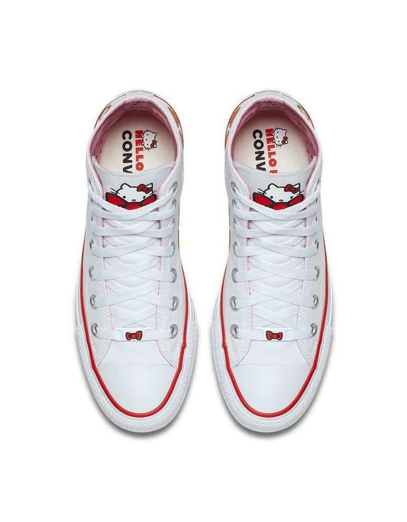 Converse X by Hello Kitty Limited Edition Sneakers Unisex Shoes Men's Women's image 6