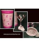 Lolita Love My Martini Glass Cancer Awareness 7 Oz Recipe - $21.99
