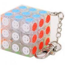 Qiyi Cube Keychain 3x3 Mini Pocket Key Ring Keyring Puzzle Fidget Toy - ... - $10.47