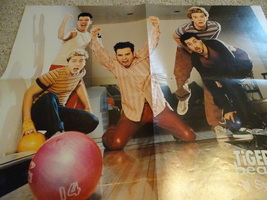 Britney Spears Nsync teen magazine poster clipping boweling lanes Popstar Bop