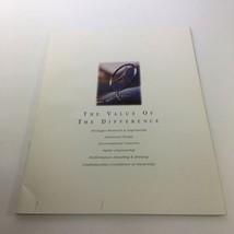 1994 Mercedes-Benz SL-Class Information Dealership Car Auto Brochure Catalog - $23.70