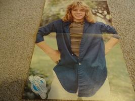 Leif Garrett teen magazine poster clipping having fun in the sun hands on hips