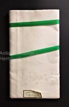 antique PURE IRISH LINEN DAMASK white nos 12 NAPKINS ireland country kil... - $124.95