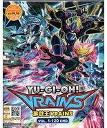 Anime DVD Yu-Gi-Oh! Vrains Vol.1-120 End English Subtitle Free Shipping - $38.50